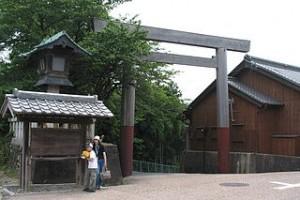 関宿の一の鳥居