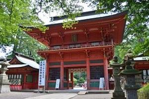 楼門(国の重要文化財) 「日本三大楼門」の1つ。