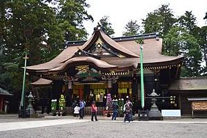 香取神宮(千葉県香取市) 下総国一宮。鹿島神宮とは深い関係にあり、古来並び称される。