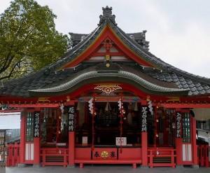 服部天神宮の社殿