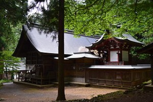 河口浅間神社本殿