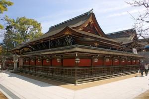 京都の北野天満宮