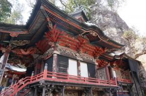 榛名神社の本殿